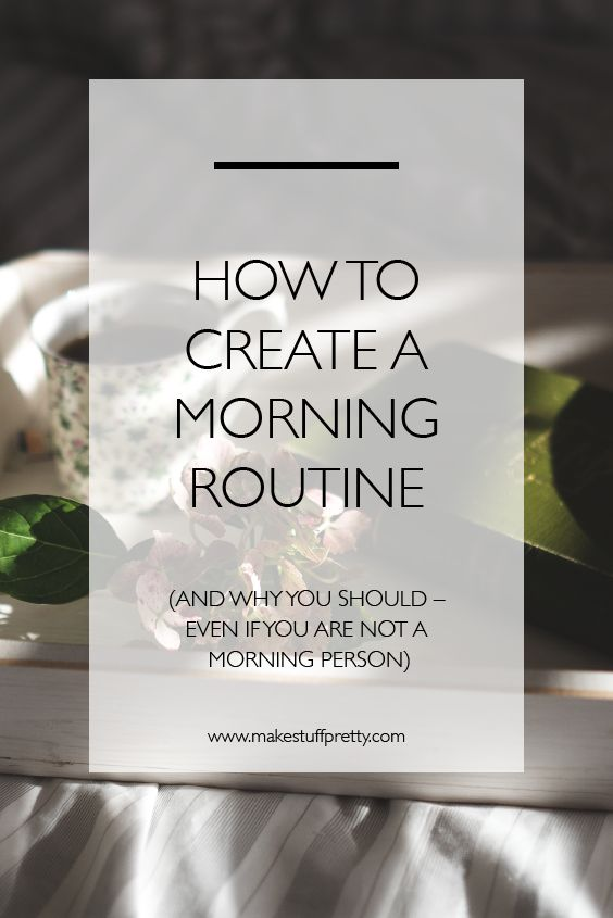 Claiming your morning time can be nothing short of life-changing. Here's how I am going to create a morning routine that sticks – and why you should, too.