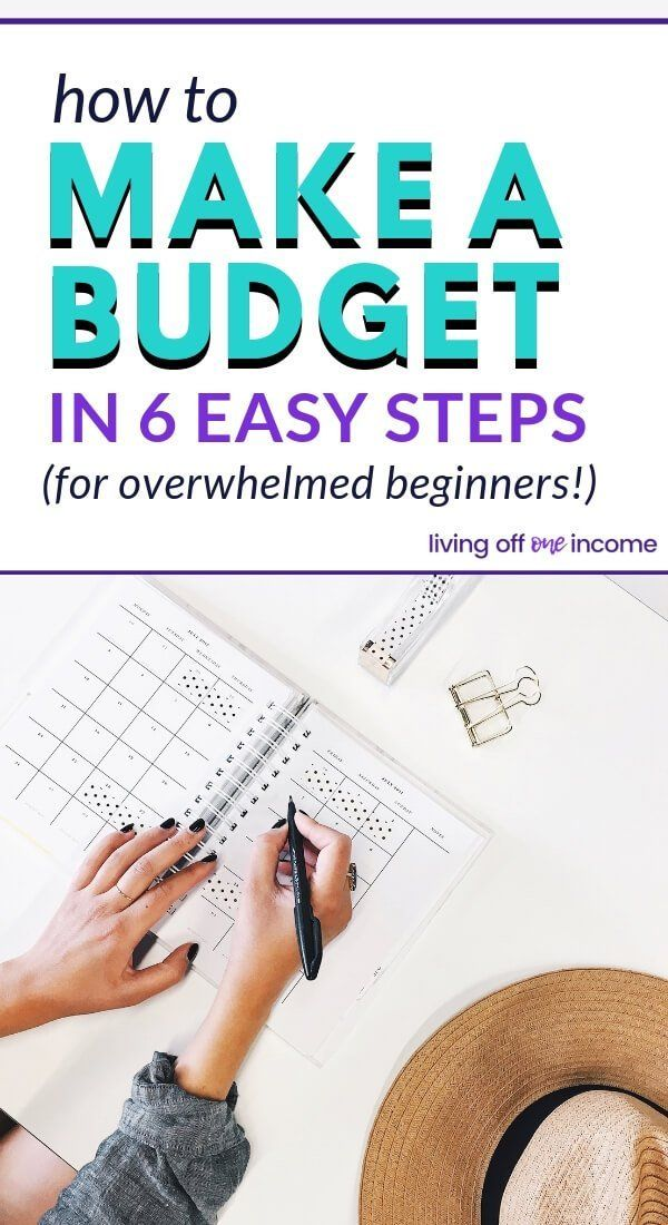 How To Make A Budget (When You Hate Budgeting)