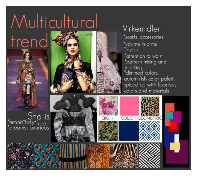 """multicultural trend"" by laureckaite on Polyvore"