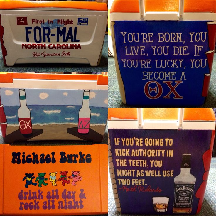 Theta Chi Formal Cooler