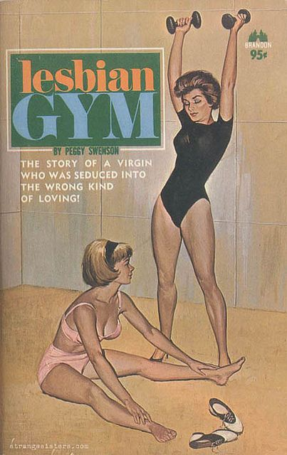 "Lesbian Gym - ""The story of a virgin who was seduced into the wrong kind of loving!"""