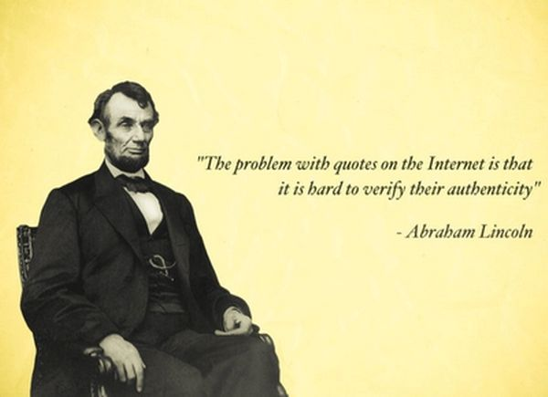 [ Yep. - PSC]Abraham Lincoln, Laugh, Abrahamlincoln, True, Funny Stuff, Abed Lincoln, Honest Abed, Internet Quotes, Wise Words