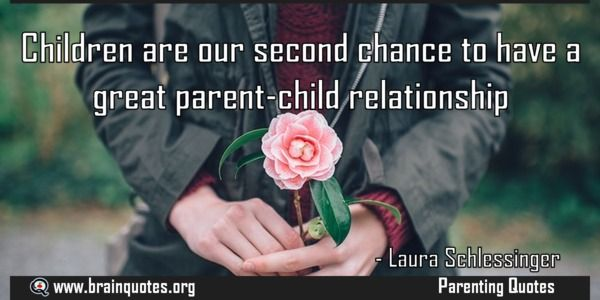 Children are our second chance to have a great parent-child relationship Quote  Children are our second chance to have a great parent-child relationship  For more #brainquotes http://ift.tt/28SuTT3  The post Children are our second chance to have a great parent-child relationship Quote appeared first on Brain Quotes.  http://ift.tt/2ey0BWo