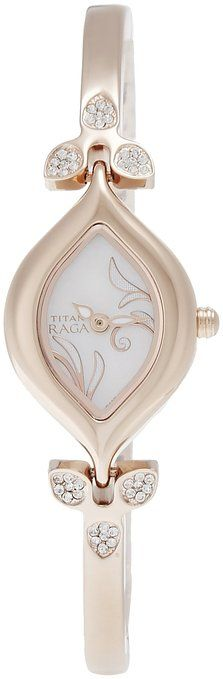 Titan Women's 2012WM01 Raga Inspired Gold Tone Watch