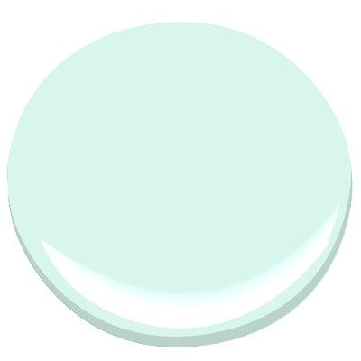 Benjamin Moore minty green 2042-70