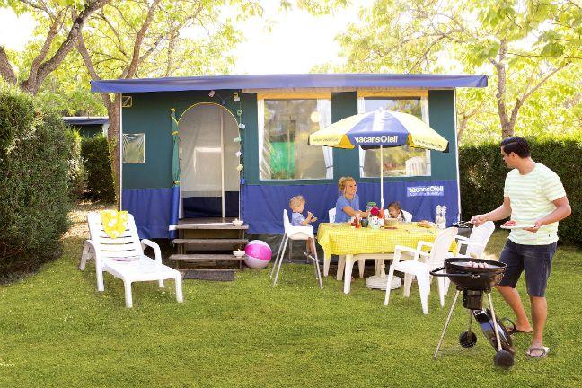 Een volledig ingerichte bungalowtent van Vacansoleil is ideaal voor een fijne vakantie