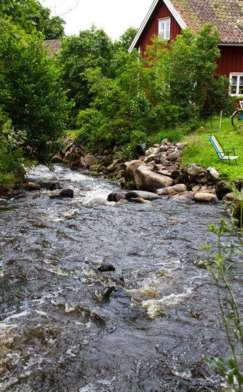 Röttle by, Gränna, Småland, Sweden