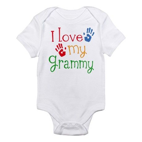 "Never see anything with ""Grammy"" on them. This is cute!!"