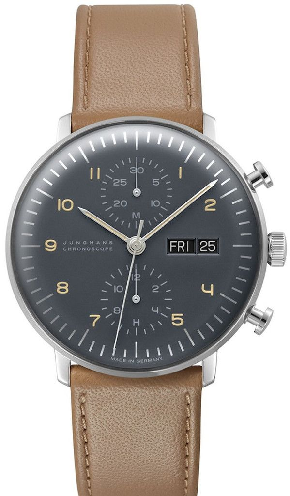 Junghans Watch Max Bill Chronoscope Pre-Order #basel-15 #bezel-fixed #bracelet-strap-leather #brand-junghans #case-depth-14-4mm #case-material-steel #case-width-40mm #chronograph-yes #date-yes #delivery-timescale-call-us #dial-colour-silver #gender-mens #luxury #movement-automatic #new-product-yes #official-stockist-for-junghans-watches #packaging-junghans-watch-packaging #pre-order #pre-order-date-30-06-2015 #preorder-june #style-dress #subcat-max-bill #supplier-model-no-027-4501-01…