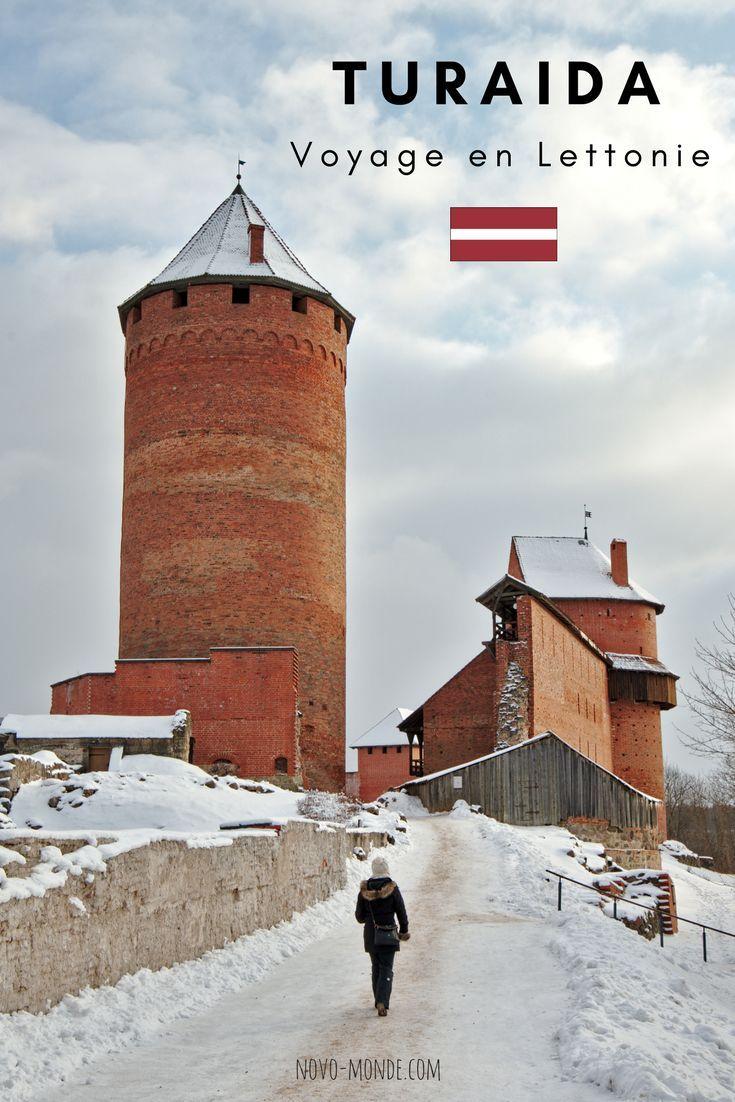 Lettonie - petite escapade depuis Riga: le chateau de Turaida et le parc national de Gauja. Une magnifique excursion à la journée qui s'organise facilement en indépendant en direction du petit village de Sigulda. #sigulda #lettonie #paysbalte #riga