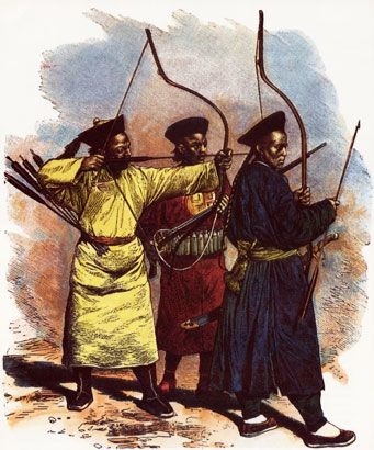 chinese archers in Taiping Rebellion