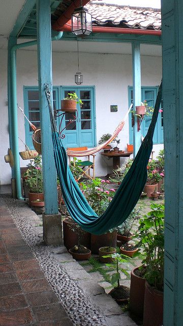 Hammocks in Colombia