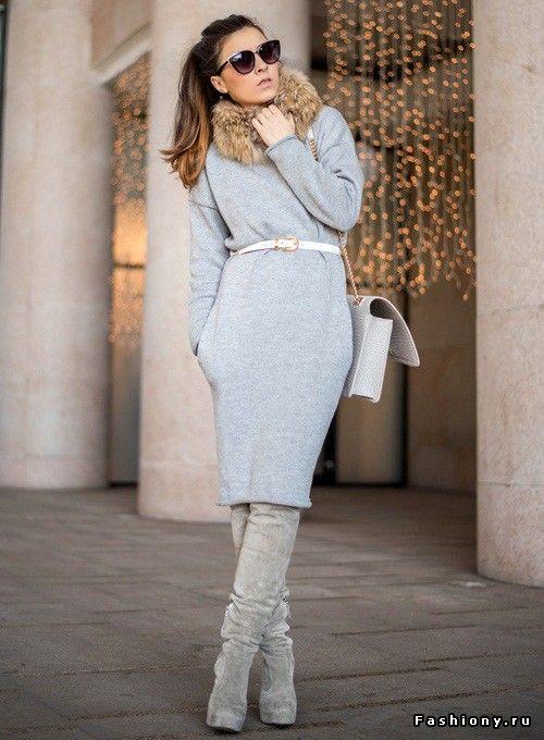 Платье в холода