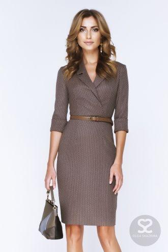 Офисные платья можно купить в интернет-магазине дизайнера. Деловое платье. | Skazkina