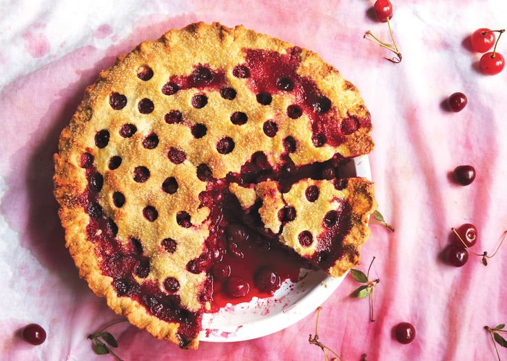 Sour Cherry Pie Recipe - Bon Appétit. I've never had cherry pie, it's not very popular in Australia. But have been meaning to try it for ages!