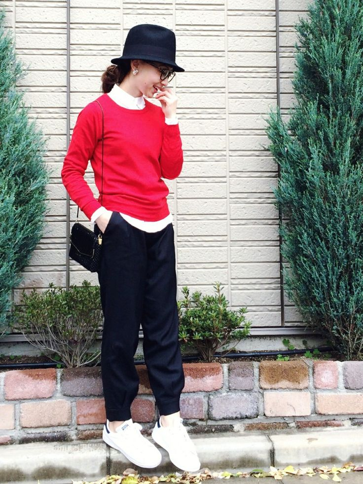 SIZUさんのスニーカー「adidas adidas STAN SMITH」を使ったコーディネート