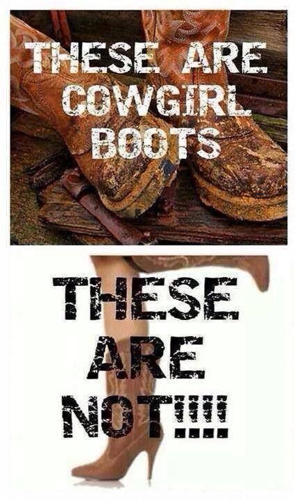 """A lot of girls at school buy """"cowgirl boots"""" from JCP and Macy's!  Ariat, Justin, ect. can't be bought there!!"""