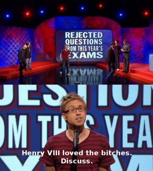 Russell Howard - Rejected questions from this year's exams | Mock the Week