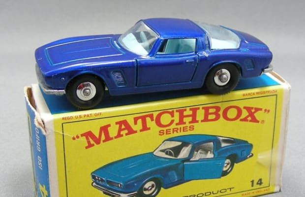 1968 Iso Grifo. Italian competitor with the Chevy Corvette. | 50 Best Matchbox Cars
