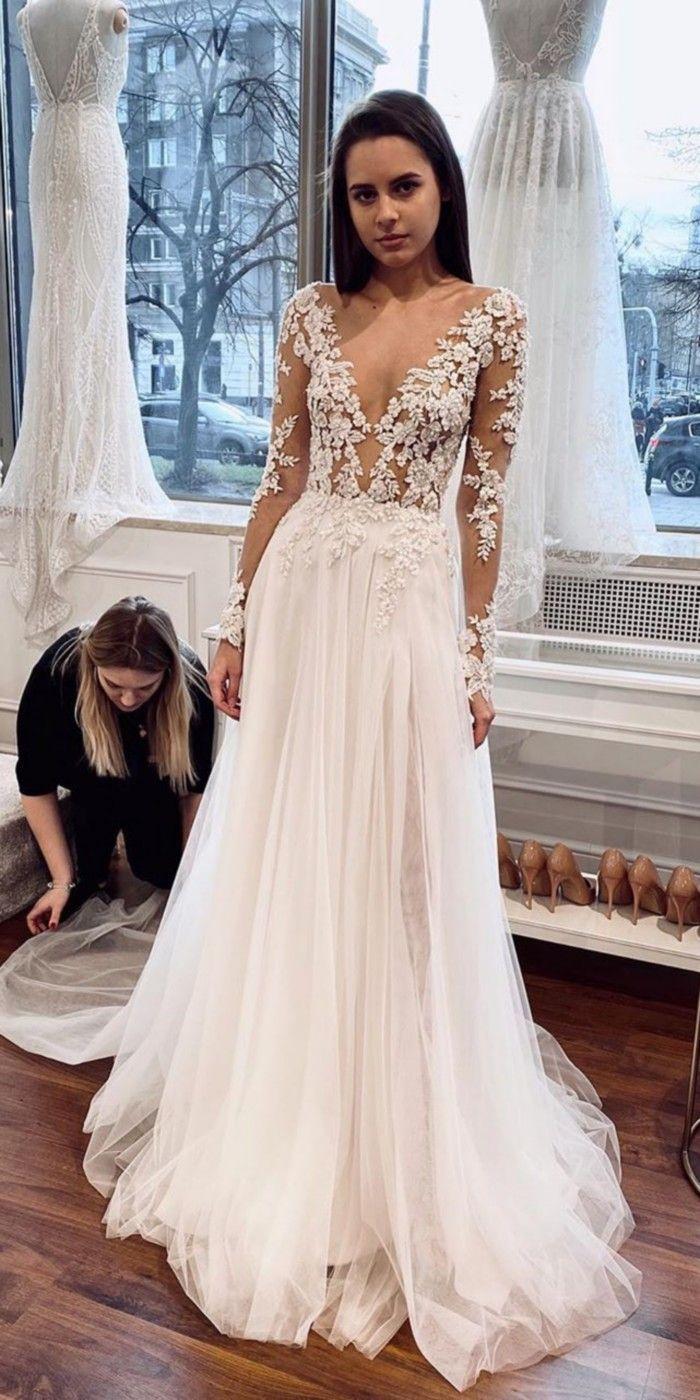 55 Lace Wedding Dresses From Tomsebastien Official Wedding Dresses Short Lace Wedding Dress Dresses [ 1400 x 700 Pixel ]