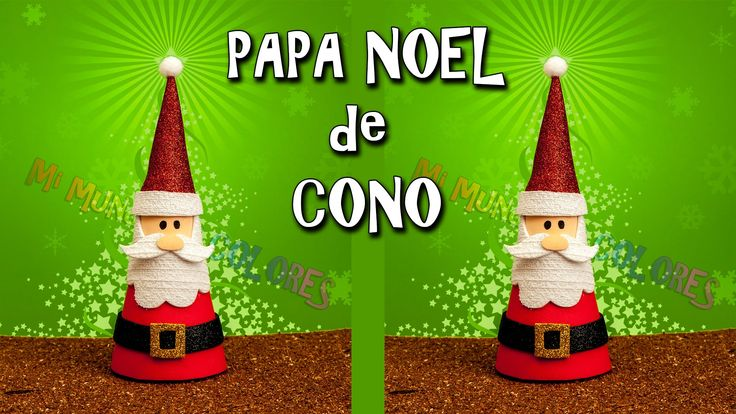 17 best ideas about papa noel goma eva on pinterest - Adornos de papa noel ...