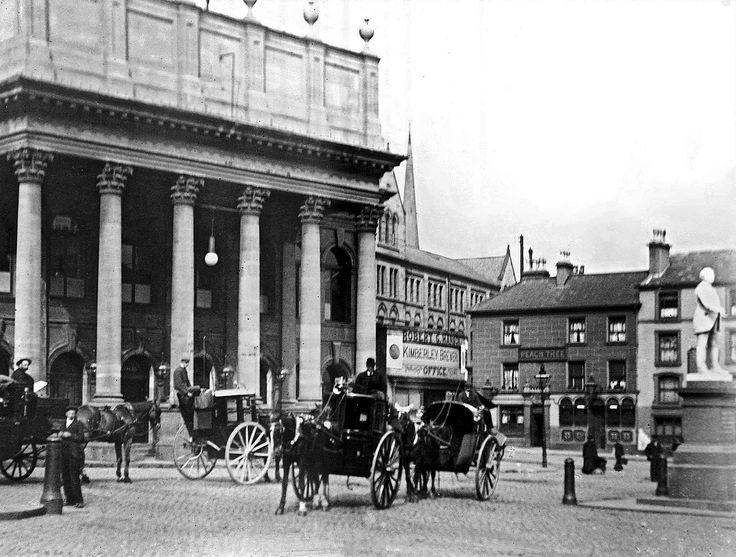 Theatre Square, Nottingham, c 1895 (courtesy of J Buist).
