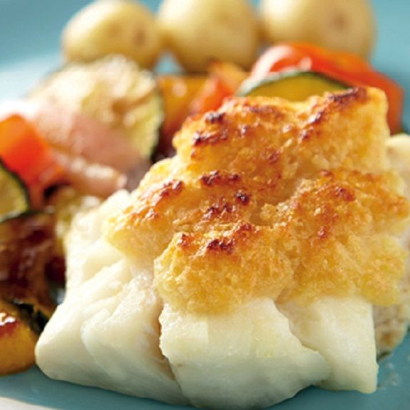 Cheesy grilled cod recipe skillets cheddar and for Grilled cod fish recipes