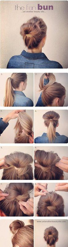 I do this when I go into the subway because all the moisture down there makes my hair frizz like WHOA! Lol