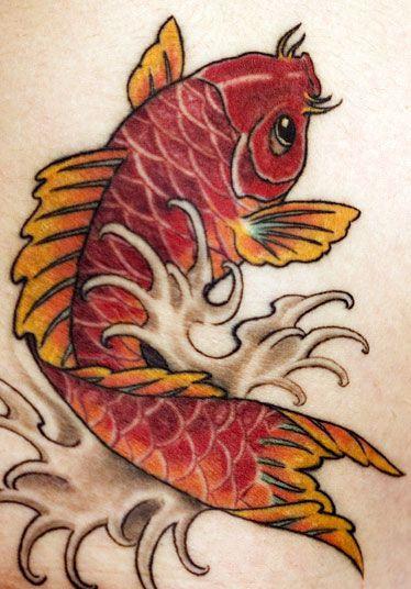 Japanese Koi Fish Tattoo by Chris Nunez | Tattoos | Pinterest ...