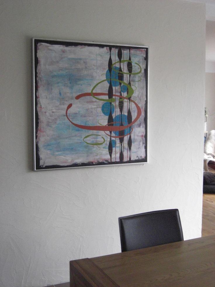 arl, 100x100cm Tang, pastel
