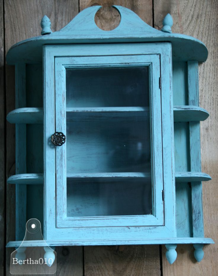 Turquoise hangkastje