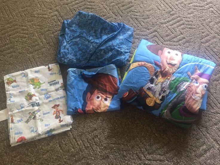 Disney Toy Story Toddler Bed 4-piece Comforter/Sheet Set  | Home & Garden, Kids & Teens at Home, Bedding | eBay!