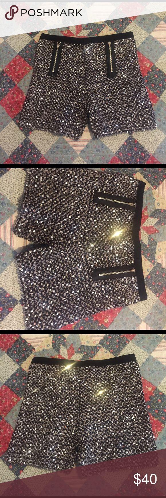 Sparkly shorts ... Shorts