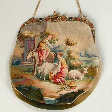 История вещей, костюма, искусства, мебели, интерьера и быта от художника кино. - Старинные сумочки и кошельки.