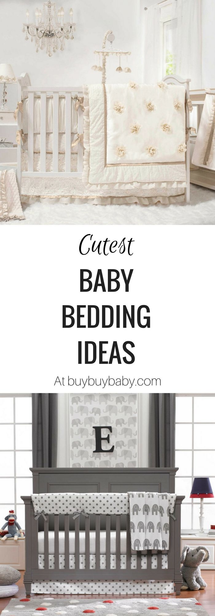 Looking for some cute baby bedding ideas? There are so many crib bedding sets, crib sheets and mattress pads & covers at buybuyBABY. (http://shopstyle.it/l/caHf). Maybe you're looking for certain patterns like rustic, shabby chic, vintage or woodland. They have great variety of baby bedding sets for baby boys and girls. There is also a nice selection of gender neutral patterns too! {Ad}