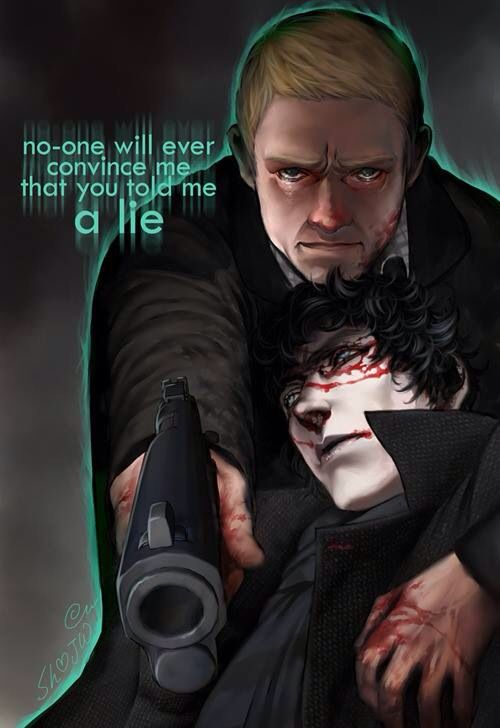 oh this is great! John & Sherlock fanart