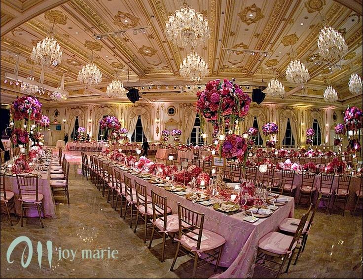 Mar A Lago Gold Wedding Centerpieces Wedding