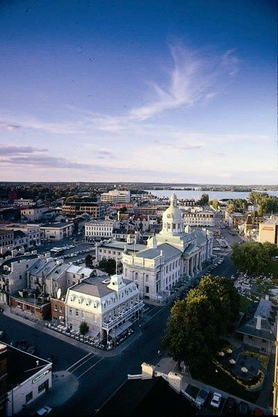 Aerial View of Kingston, Ontario, Canada