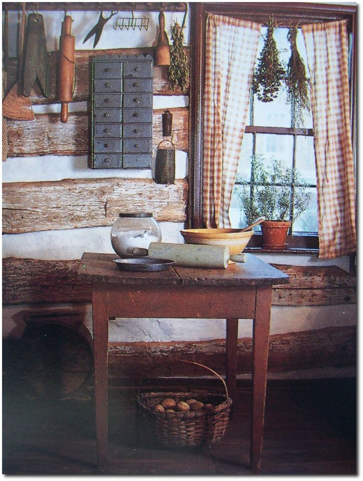 Old Primitive Decorating Ideas American Country