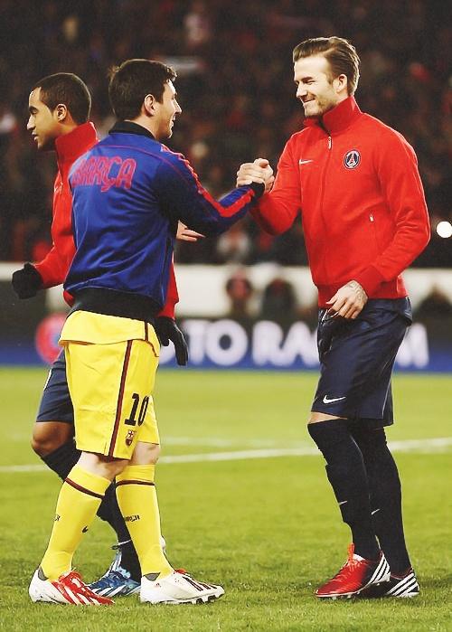 #Beckham #Messi #PSG