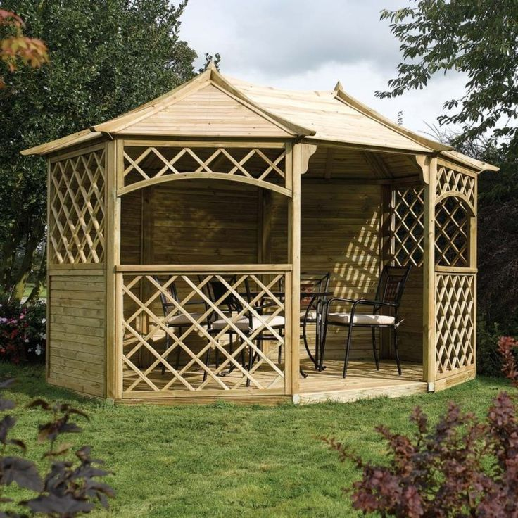 Image result for ideas for wooden gazebos