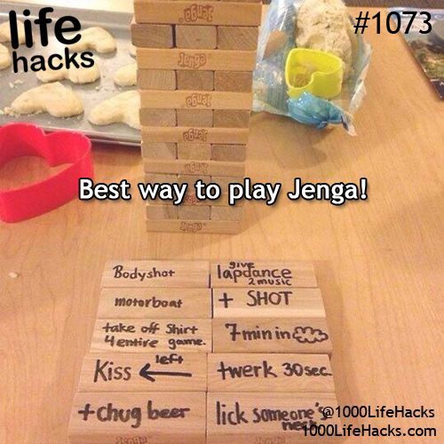 Dirty Jenga