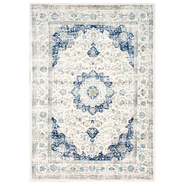 Stunning Area Rugs On Sale From Houzz With Images Blue Rug