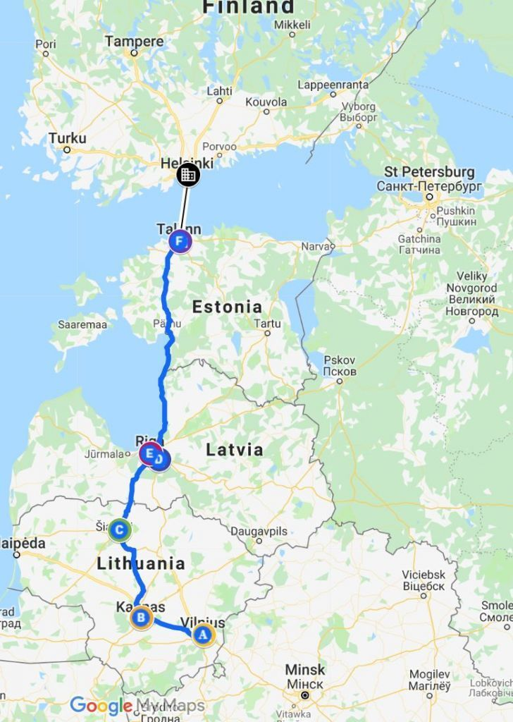 The Perfect Baltics Travel Itinerary: Lithuania, Latvia ...