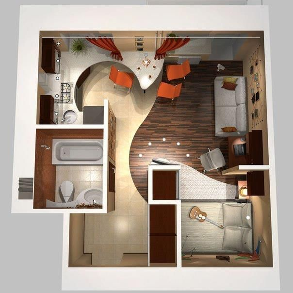 Diseño de interior para espacios chicos!