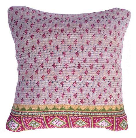 Basha Holiday Kantha Cushion