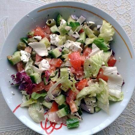 Görög saláta III. Recept képpel - Mindmegette.hu - Receptek