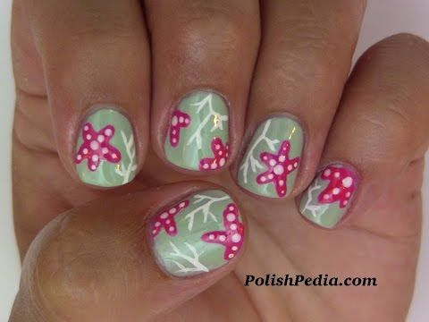 Crushin' Coral Nails http://polishpedia.com/crushin-coral- - Best 25+ Coral Nail Designs Ideas On Pinterest Coral Nails