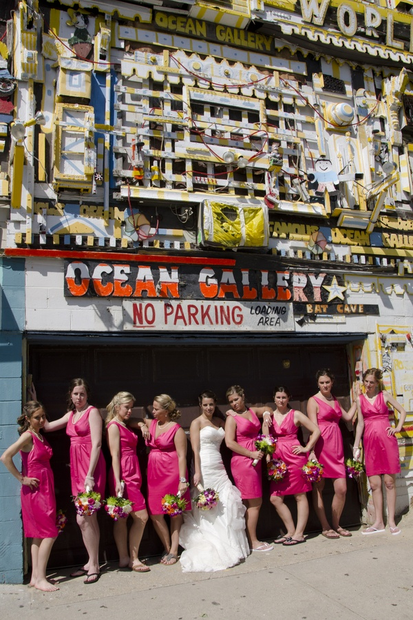 Ocean City Maryland Beach Wedding Theme Blog Hot Pink 9