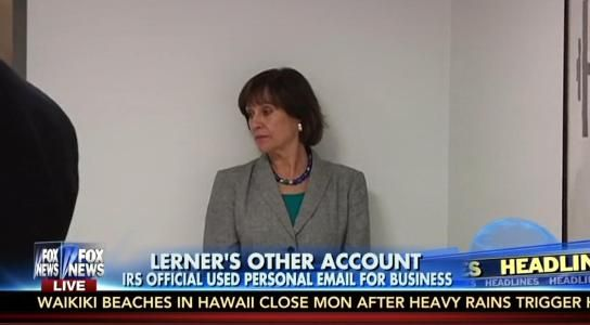 """First it was a destroyed hard drive, then it was a busted BlackBerry and now we find out Lois Lerner used another personal e-mail account to conduct government business that utilized the alias """"Toby Miles."""" This IRS targeting scandal has more twists than an old episode of Law and Order, but it's still not enticing the Big Three networks (ABC, CBS, NBC) to go back to covering it."""
